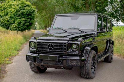 Mercedes G-Klasse w463 Trittbretter schwarz G350 cdi Kundenfoto 3