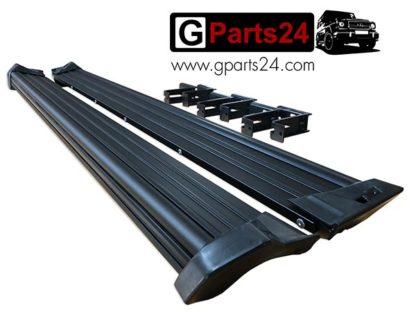 g wagon black side steps g-class w463