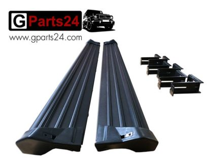 mercedes g wagon black running boards for g class w46