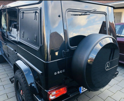 Mercedes G-Klasse w463 Reserveradring schwarz