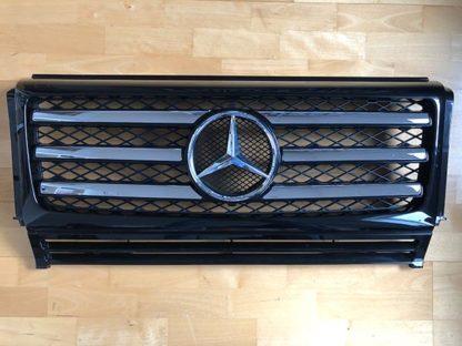Original Mercedes G-Klasse Kühlergrill w463 3-Chromlamellen Facelift