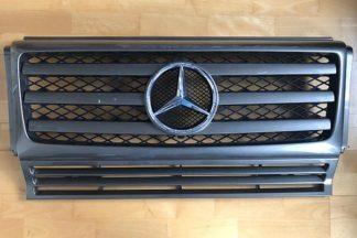 Original Mercedes G-Klasse w463 Facelift Kühlergrill G270 G350 G500 Baujahr 2007-2014 tenoritgrau