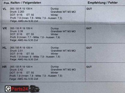 A4634012102 19-Zoll AMG-Felgen