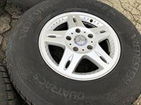 "Original Mercedes G-Klasse w463 16-Zoll ""Ashtaroth"" Felge A4634010702 ET63"