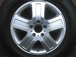Original Mercedes G-Klasse w463 18-Zoll Felge A4634011602 ET63