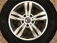 Original Mercedes G-Klasse w463 18-Zoll Felge A4634012202 ET63