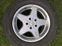 Original Mercedes G-Klasse w463 AMG 18-Zoll Felge A4634010802 ET48