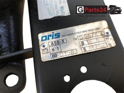 Oris A50-X AHK 3500kg G-Klasse Anhängerkupplung w463 w461 w460