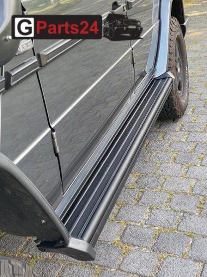 Trittbretter schwarz w463 G-Klasse