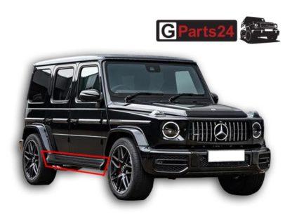 w463a trittbretter schwarz neues G-Modell