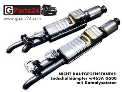 G-Klasse w463a G500 Auspuff Endschalldämpfer mit Katalysatoren