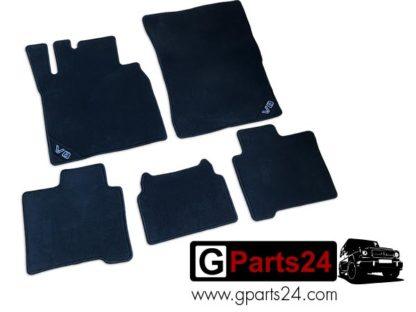G-Klasse w463 V8 Fußmatten Veloursmatten G500