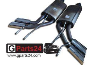 G500 4x4 Sportauspuff G-Klasse w463 4x4 hoch 2 M176, M273 und M113 Motor