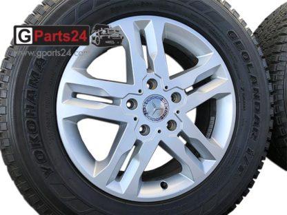 18 Zoll Felge A4634012402 G-Klasse w463 ET63 Silber Mercedes G