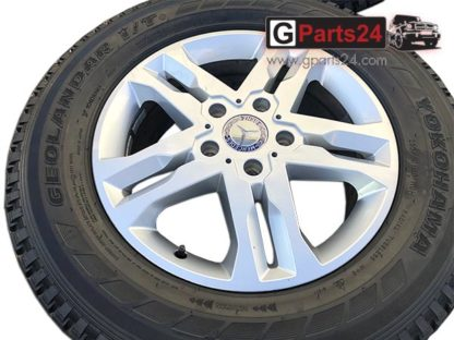 A4634012402 ET63 w463 G-Klasse 18 Zoll Felge Silber Mercedes G