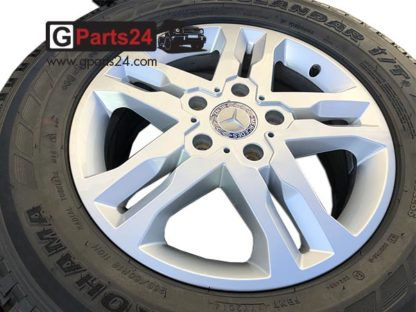 A4634012402 w463 ET63 G-Klasse 18 Zoll Felge Silber Mercedes G
