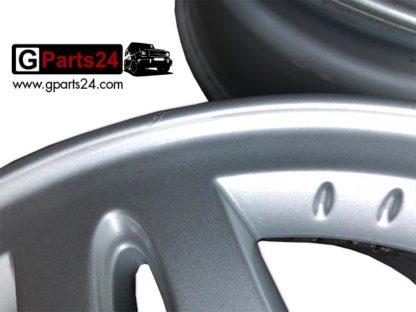 Detailfoto Nummer 2: 16 Zoll Felge G-Klasse A4634010702 w463 w461 silber