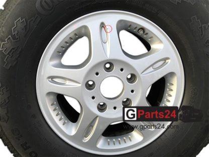 A4614011002 16 Zoll Felge G-Klasse Pur Professional Silber-Winter RDKS