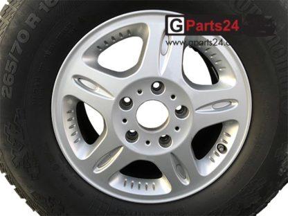 G-Klasse Professional 16 Zoll Felge A4614011002 Silber w461 Pur w463