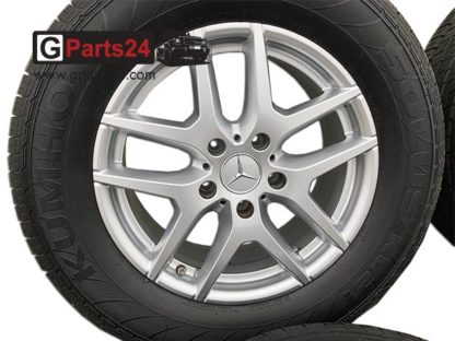 A4634013600 7X45 Vanadiumsilber 18 Zoll Felge G-Klasse MOPF