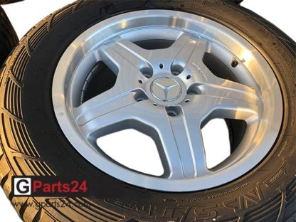 18 Zoll AMG Felge A4634011302 silber glanzgedrehter Rand