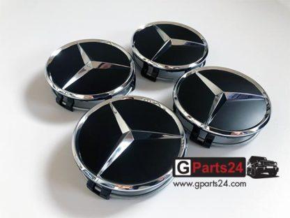 A2204000125 9283 Mercedes Nabendeckel schwarz matt w463