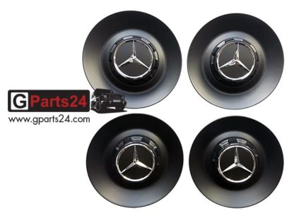 A0004004300 9283 schwarz matt AMG Nabendeckel 22 Zoll Schmiederad w463A G-Klasse