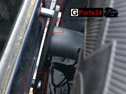A4639912840 A463991274064 Befestigung Ersatzradhalter Reserveradhalter Hecktür Heckklappe G-Klasse