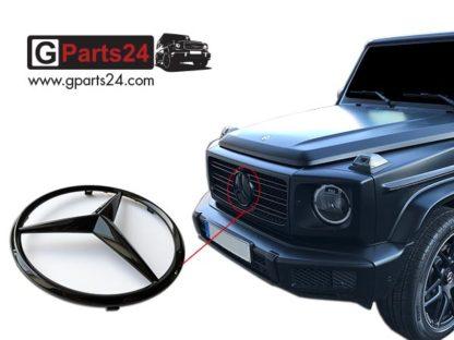 G-Klasse Mercedes Stern schwarz glänzend A0008177702 9197 Nightpaket