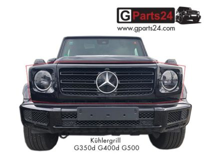 Nachrüstung-G-Klasse Kühlergrill G350d G400d G500 auf G63 Panamericana Grill w463a