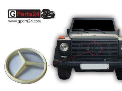G-Klasse Mercedes Stern Kühlerverkleidung Grill unlackiert A4618880009 w461 w460 Wolf G-Professional Greenliner Puch G