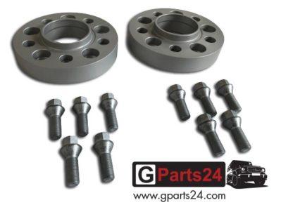 G-Klasse Spurverbreiterung 62958410 62 mm silber w463 w461 w460