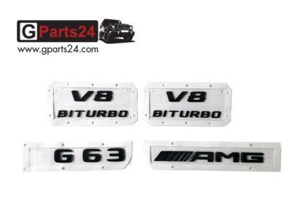G-Klasse w463a w463 G63 Typkennzeichen Emblem AMG A4638175300 A4638175200 A4638175000