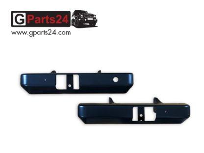 A4615203571 links A4615208871 rechts G-Modell Stahlstoßstange Heck hinten geteilt w461 G-Professional Pur Greenliner w460 Wolf Puch