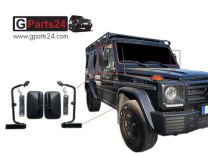 G-Klasse Bügelspiegel Außenspiegel Spiegel A4618111000 A4618101500 w461 w460 G Professional PUR Wolf Puch Greenliner