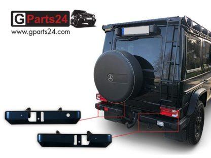 G-Klasse Professional Heckstoßstange hinten geteilt Stahl w461 Pur Greenliner w460 Wolf Puch A4615203571 links A4615208871 rechts Stoßstange