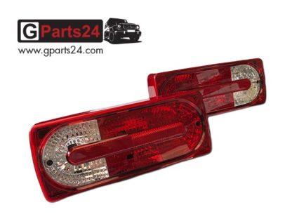 Rücklicht G-Klasse Facelift w463 Rücklichter Heckleuchten mit Lampenträger A4638202064 A4638201964
