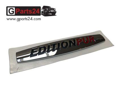Edition PUR Schriftzug Emblem Typkennzeichen A4618170320 G-Klasse w461 w460 w463