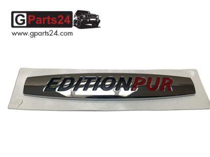 Edition PUR Typkennzeichen Schriftzug Emblem A4618170320 G-Klasse w461 w460 w463