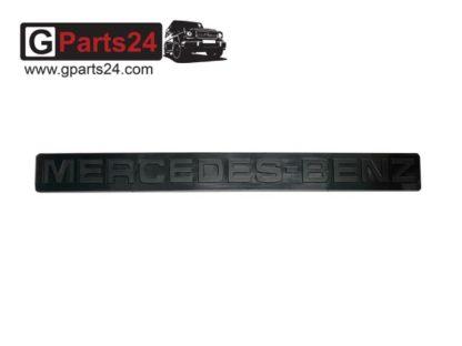 G-Klasse Emblem Mercedes Benz Schwarz Schriftzug Typkennzeichen Kennzeichenbeleuchtung Kanister A4608170216