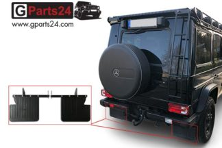 G-Klasse Spritzschutz Schmutzfänger hinten G-Modell w463 w461 w460 montagefertiges Komplettset Mudflaps Mud Flaps