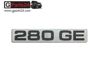 G-Klasse Spiegel Emblem 280GE Chrome Typkennzeichen 280GE Emblem 280 GE Schriftzug Chrome w460 w461 A4608170715
