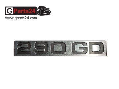 G-Klasse Spiegel Emblem 290GD Chrome Typkennzeichen 290GD Emblem 290 GD Schriftzug Chrome w460 w461 A4618170915