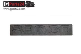 G-Klasse Spiegel Emblem 290GD Schwarz Typkennzeichen 290GD Emblem 290 GD Schriftzug Schwarz w460 w461 A4618171015