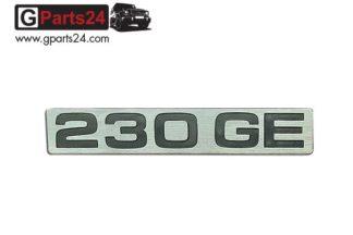 G-Klasse Spiegel Emblem 230GE Chrome Typkennzeichen-Emblem-230GE Chrome Schriftzug 230 GE Schild Puch G A4608171015
