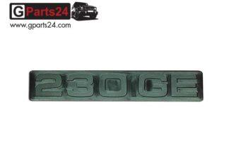 G-Klasse Spiegel Emblem 230GE Schwarz Typkennzeichen Emblem 230GE schwarz Schriftzug 230 GE Puch G A4618170415