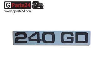 G-Klasse Spiegel Emblem 240GD Chrome Typkennzeichen Emblem 240GD Chrome Schriftzug 240 GD Wolf Puch G A4608170815