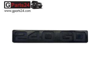 G-Klasse Spiegel Emblem 240GD Schwarz Typkennzeichen Emblem 240GD Schwarz Schriftzug 240 GD Wolf Puch G A4618170615