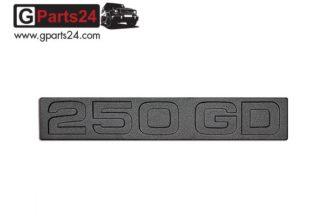G-Klasse Spiegel Emblem 250GD Schwarz Typkennzeichen Emblem 250GD Schwarz 250 GD Schriftzug Wolf Puch G A4618171215