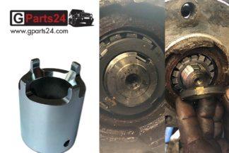 G-Klasse Nutmutternschlüssel Radlager w461 Werkzeug Nutmutter Zapfennuss Schlüssel Spezialwerkzeug